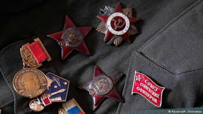 Медали советского ветерана войны