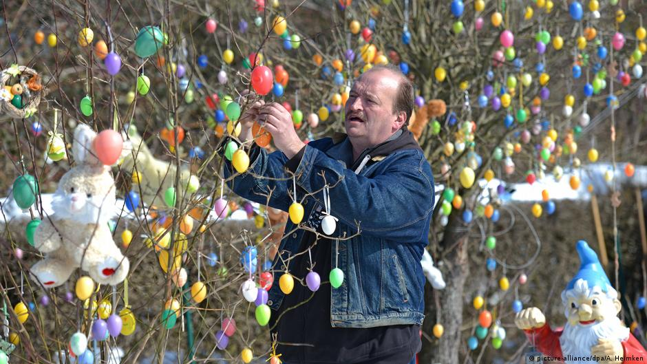 Kuriose Ostern in Deutschland