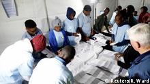 Südafrika Parlamentswahl Stimmauszählung