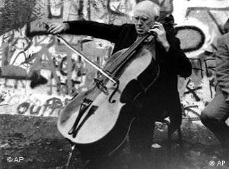 Мстислав Ростропович. 11 ноября 1989