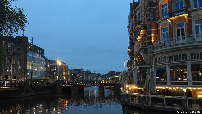 Amsterdam Abenddämmerung