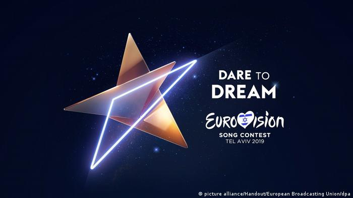Eurovision Song Contest 2019 Tel Aviv Logo (picture alliance/Handout/European Broadcasting Union/dpa)