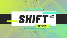 DW Shift Spezial Sendungslogo englisch