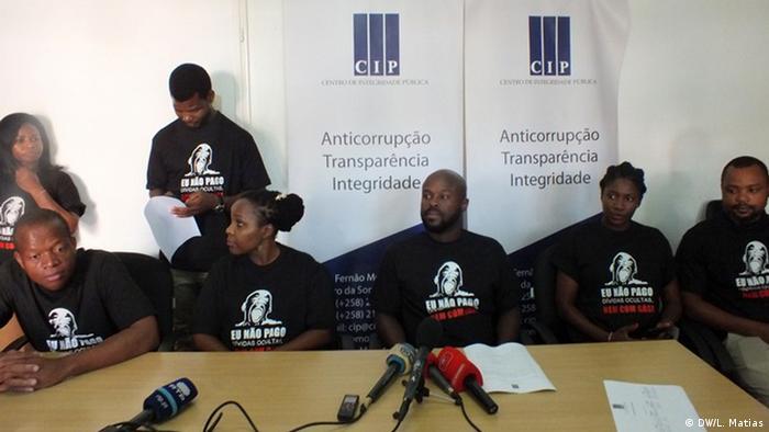 Equipa do CIP. No centro Edson Cortês, diretor do CIP