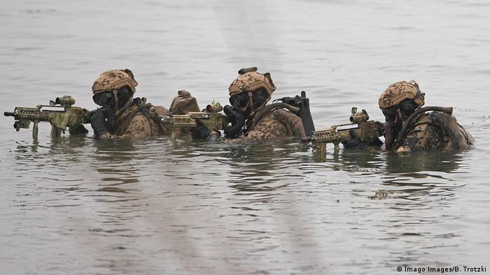 German special forces soldiers (Imago Images/B. Trotzki)