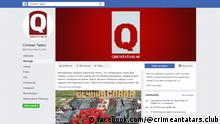 Screenshot Facebook Crimean Tatars