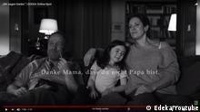 Screenshot Online-Spot EDEKA Wir sagen Danke
