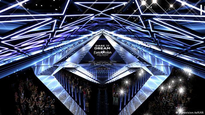 Eurovision Song Contest 2019 Bühne (eurovision.tv/KAN)