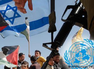 UN Israel Palestine symbolic picture