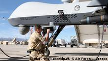 USA Creech Air Force Base - MQ-9 Reaper Drohne