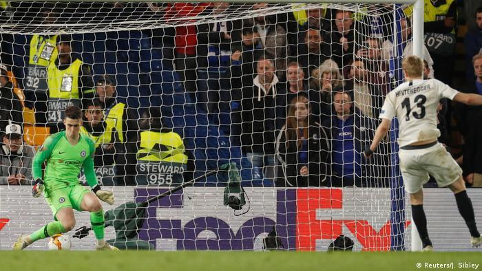 Europa League - FC Chelsea v Eintracht Frankfurt | Elfmeterschießen