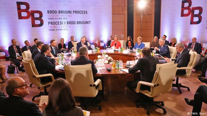 Albanien Tirana BRDO-Brijuni-Gipfel