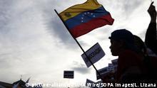 Spanien Madrid Protest von Exil Venezolanern