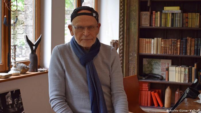 Reporter Günter Wallraff nach Haftentlassung in Griechenland