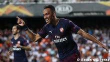 Fußball Europa League FC Valencia - FC Arsenal