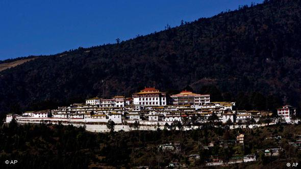 Tawang Monastery is in the north-eastern Indian state of Arunachal Pradesh, which is also claimed by China