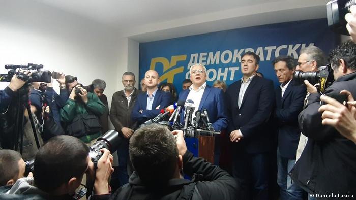 Montenegro Pressekonferenz