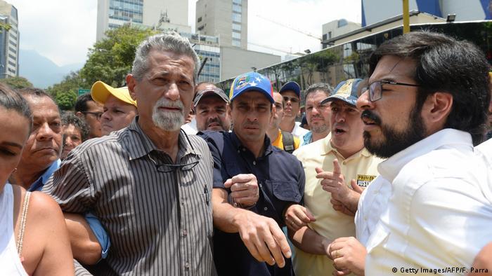 Venezuela Opposition Henrique Capriles