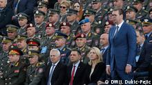 Serbia marches between the East and the West