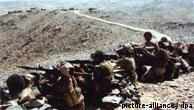 نیروهای ارتش یمن در منایق شیعی نشین شمال