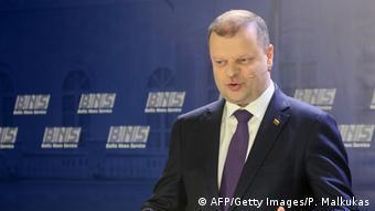 Премьер-министр Литвы Саулюс Сквернялис