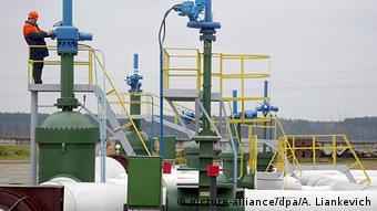 Первая подстанция нефтепровода Дружба на белорусской территории