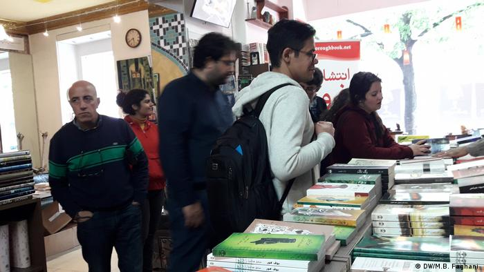 Buchmesse in Berlin Iran