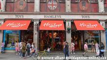 Großbritannien Hamleys Toys, ältestes Spielwarengeschäft der Welt