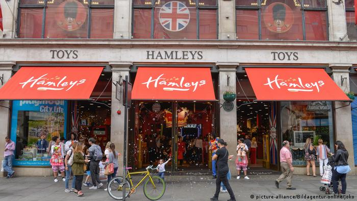 Hamleys flagship toy store on Regent Street in London