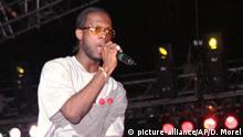 Fugees Sänger Prakazrel Pras Michel im Jahr 1997