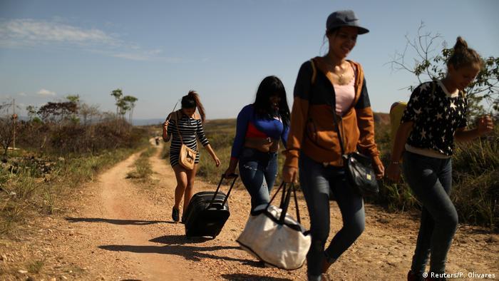 Venezuela öffnet die Grenze zu Brasilien
