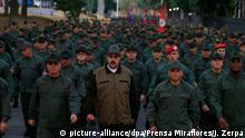 Venezuela Caracas Maduro schwört Soldaten auf sich ein