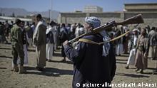 Konflikt im Jemen Versammlung von Huthi-Rebellen in Sanaa