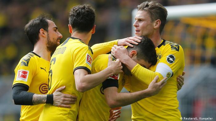 Fußball: 1. Bundesliga, Borussia Dortmund - Fortuna Düsseldorf (Reuters/L. Kuegeler )