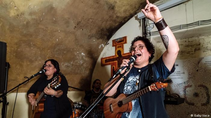 Gaby Vaca - Musikerin aus Nicaragua