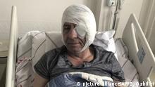 Türkei, Ankara: Yavuz Selim Demirag im Krankenhaus