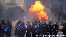 Albanien: Demonstrationen in Tirana