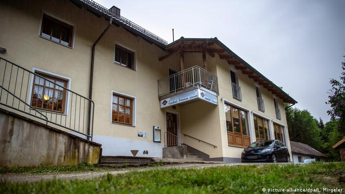 The guesthouse in Passau, back view