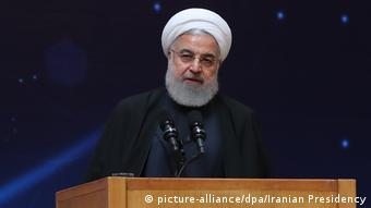 Hassan Ruhani Präsident des Iran (picture-alliance/dpa/Iranian Presidency)