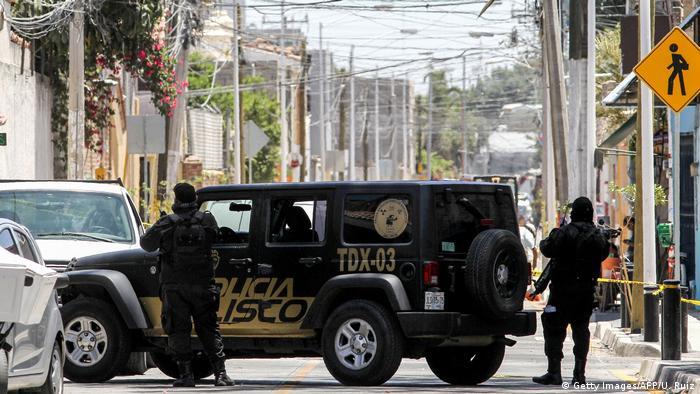 Mexiko Zapopan Massengrab Fund Polizei