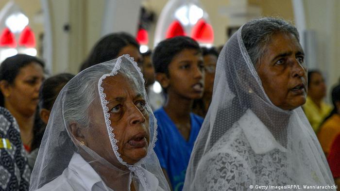 Sri Lanka Colombo katholische Kirche Gottesdienst nach Anschägen