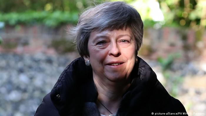 Theresa May (picture-alliance/PA Wire/S. Parsons)