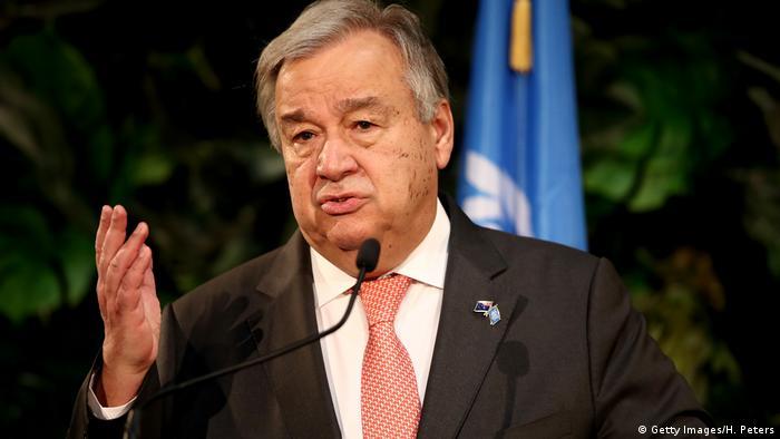 António Guterres é secretário-geral da ONU desde janeiro de 2017