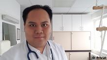 Adiyaksa Pratama indonesischer Medizinstudent an der Uni Bonn