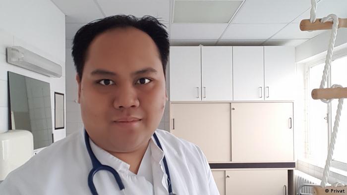 Adiyaksa Pratama indonesischer Medizinstudent an der Uni Bonn (Privat)