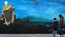 East Side Gallery in Berlin Berliner Mauer offizielle Neueröffnung