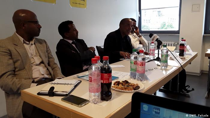 Deutschland Diskussionsrunde Ethiopian nation building in Frankfurt