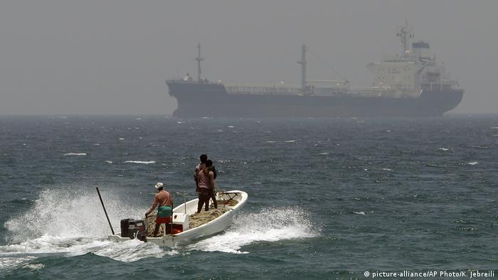 VAE Öltanker vor der Küste nahe Fudschaira