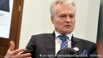 Президент Литовской Республики Гитанас Науседа