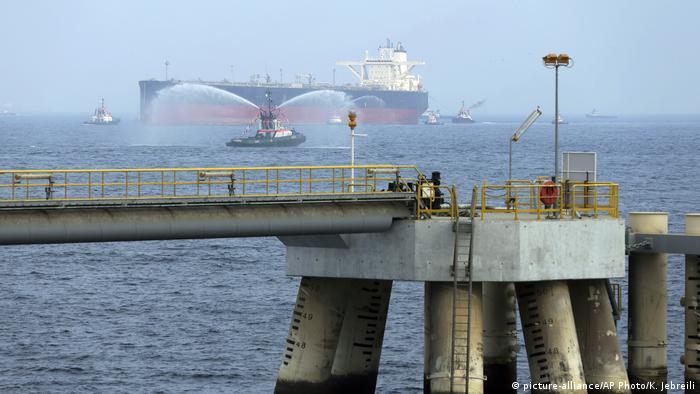 Emirate Fujairah Hafen (picture-alliance/AP Photo/K. Jebreili)